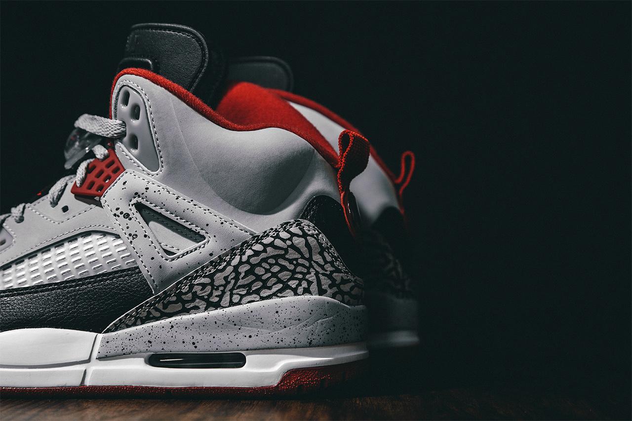 best website 765f6 86fbc Jordan Spizike Wolf Grey
