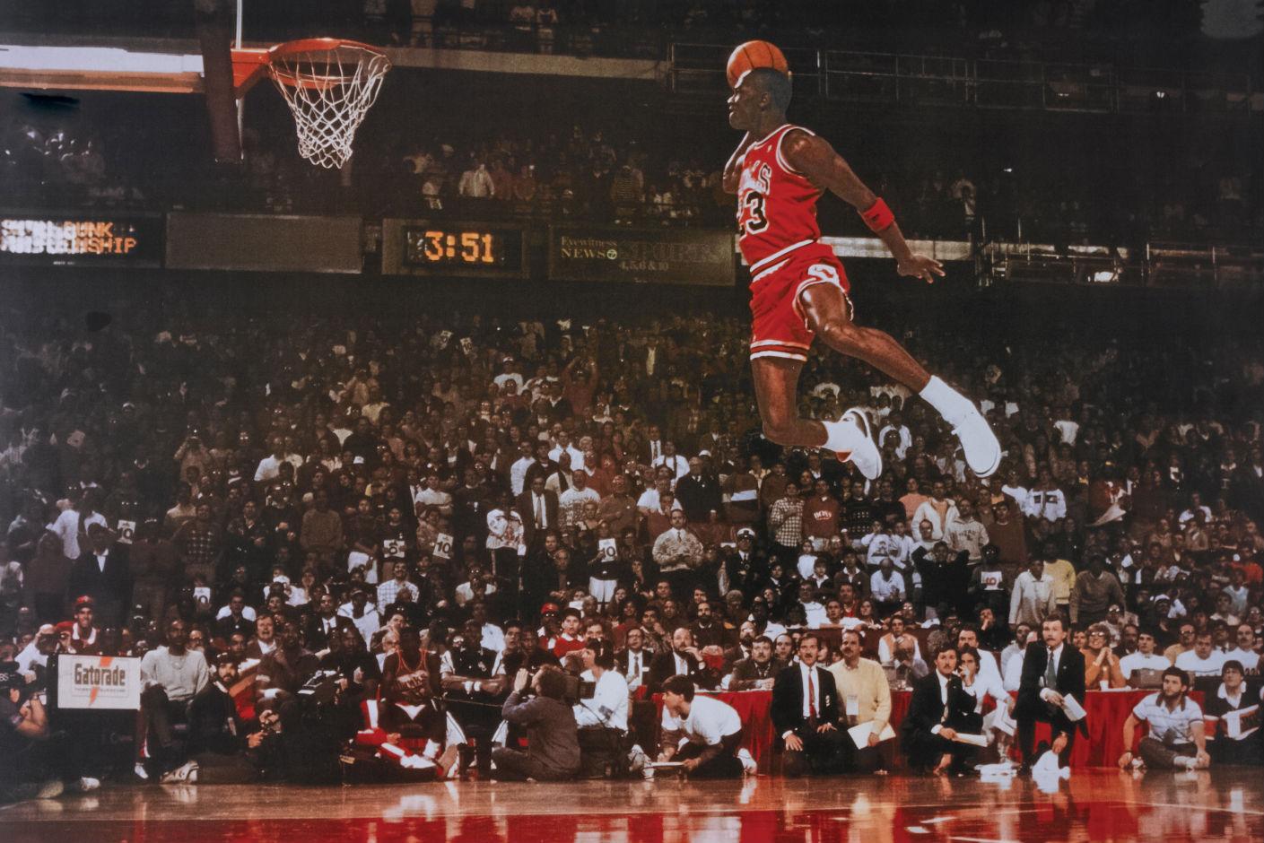 Nejznámější fotografie Michaela Jordana