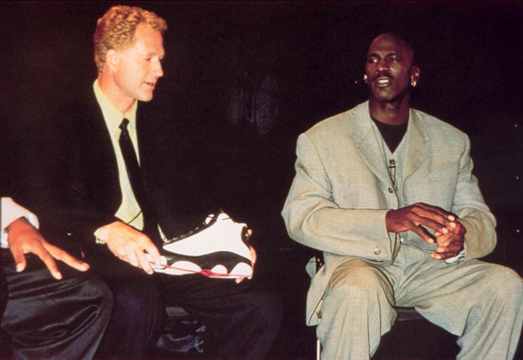 Tinker Hatfield a Michael Jordan
