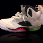 Air Jordan 5 Infrared 23 Light Poison Green