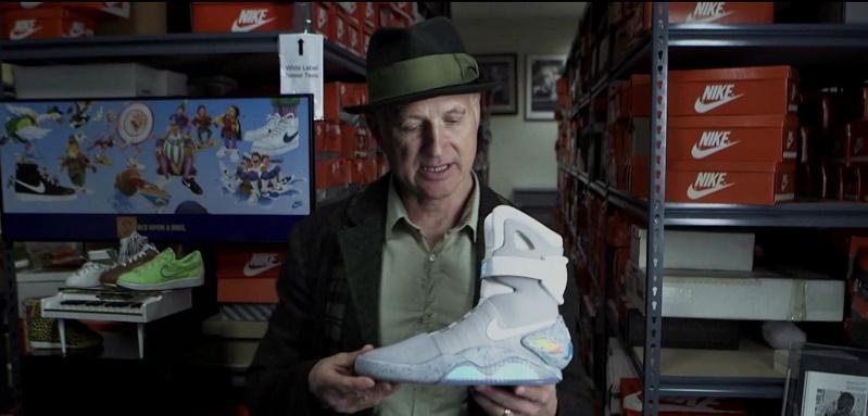Tinker Hatfield a Nike Air Mag