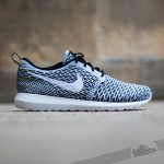 Nike Flyknit Rosherun black/white/dark/grey