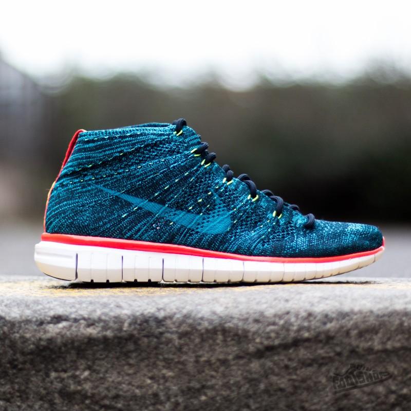 e6d326620460 Nike Free Flyknit Chukka dark obsidian blue