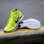 Nike Free Flyknit Chukka volt/black