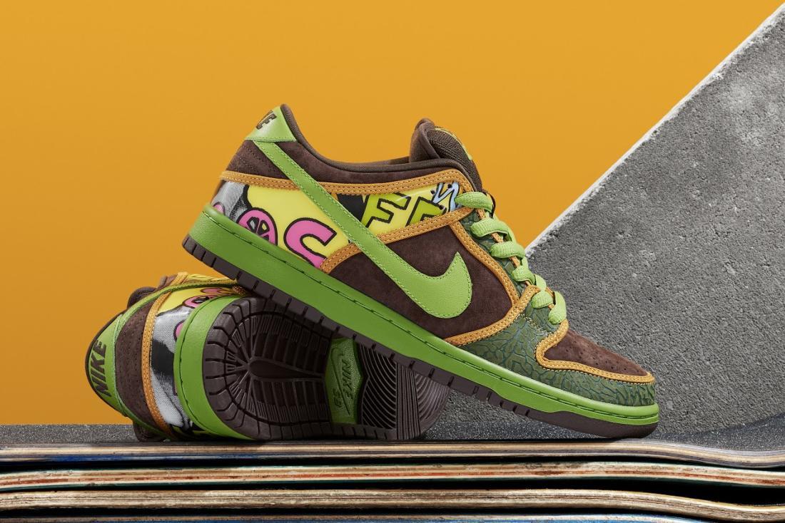 Nike SB Dunk Low x De La Soul