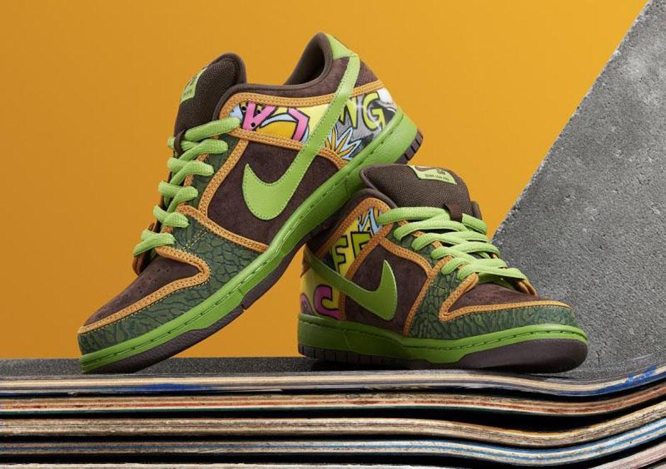 Nike SB Dunk x De La Soul Low