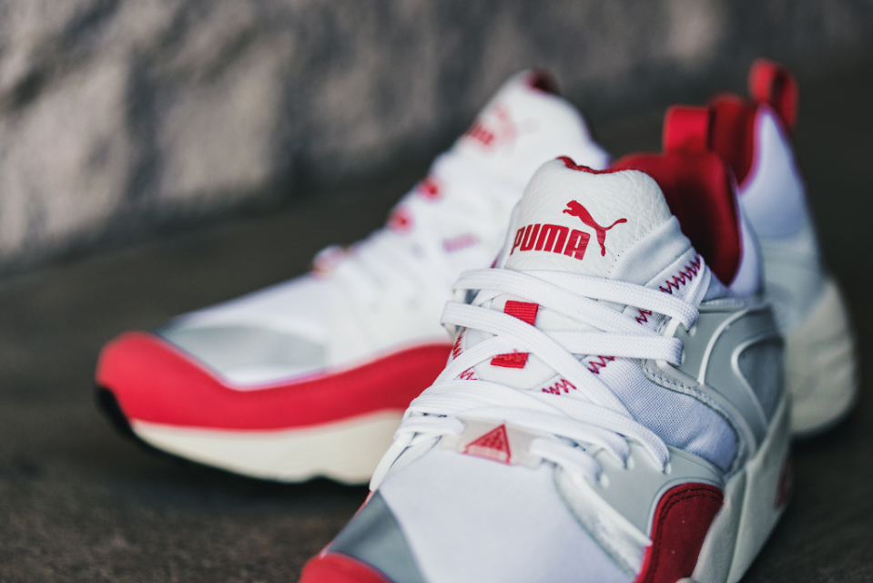 "PUMA Blaze of Glory ""White/Red"""
