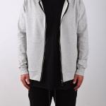 9. Essential zip hoodie S15